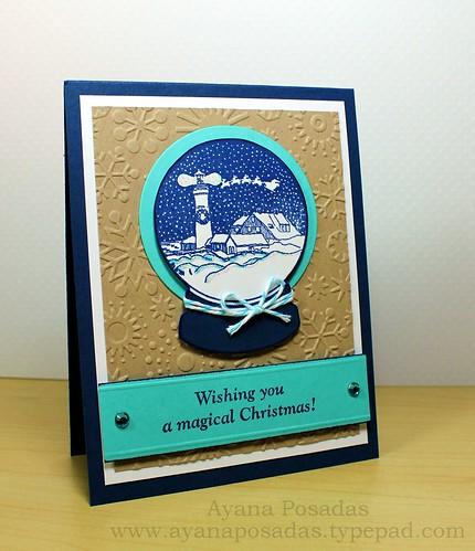 Wishing You a Magical Christmas Snow Globe (3)