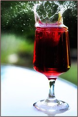 Cranberry Juice (JLM Photography.) Tags: red juice cranberry splash refreshing refresh flickrchallengegroup flickrchallengewinner jlmphotography