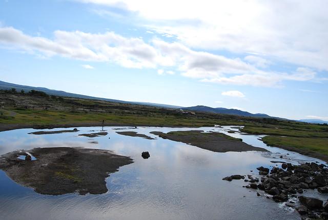 Paisaje de Þingvellir