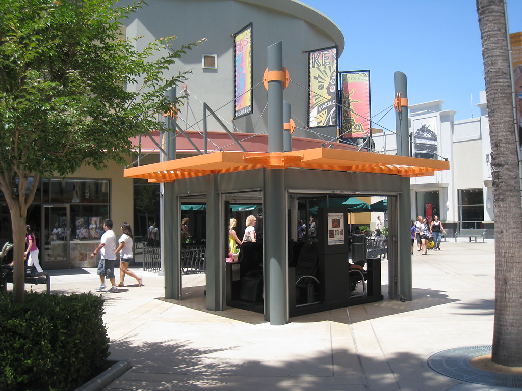 Kiosk Shade Structure