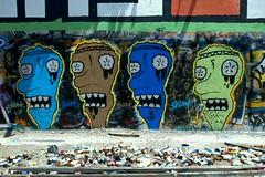 (thixmillie) Tags: graffiti think pit 1984