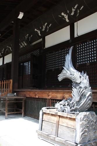 しゃちほこ(文化13年(1816)丙子年) 梅林寺,Bairinji Temple