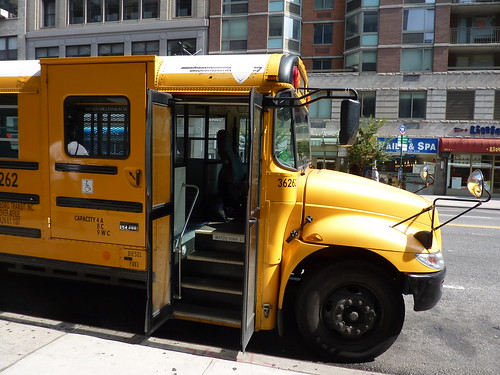 School Bus - New York City by
