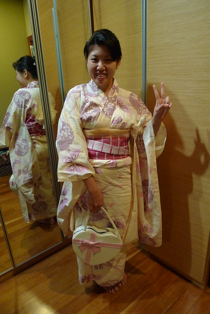 Sleepover Night: GAMP & Kimono