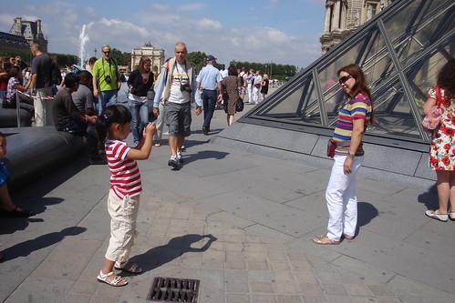 Paris Louvre et autour-52 pt photographe au Louvre