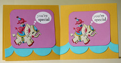 Circus Elephant Cards