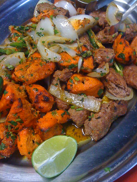Desi Grill Tandoori Mixed Grill
