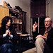 Jimmy Page & William Burroughs NYC 1975