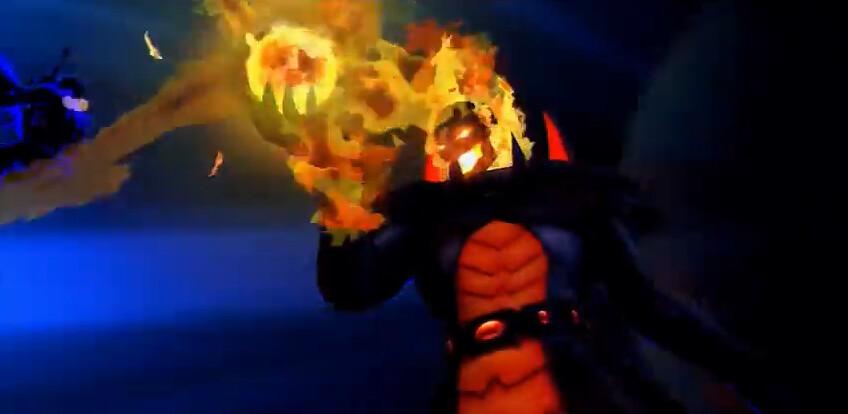 Marvel vs Capcom 3 Fate of Two Worlds Gamescom 2010 Dormammu Unveil