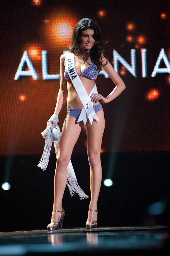 Miss Universe bikini Albania Angela Martini