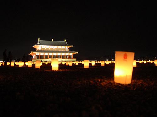 平城宮跡夏季フェア「光と灯りのフェア」-16