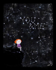 we were written in the stars (crosti) Tags: sky love girl illustration stars lost hope sad mixedmedia dream chloe we galaxy were written asleep comet relationships starry redheaded brokenheart asteroids stargazing youandme youme redhaired meteorshower perseids lookingatthesky blackhearted swifttuttle crosti persides christinatsevis greekillustrator prolificmeteorshower