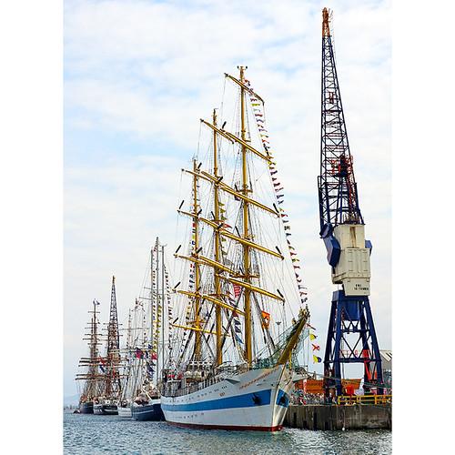 Hartlepool Tall Ships race