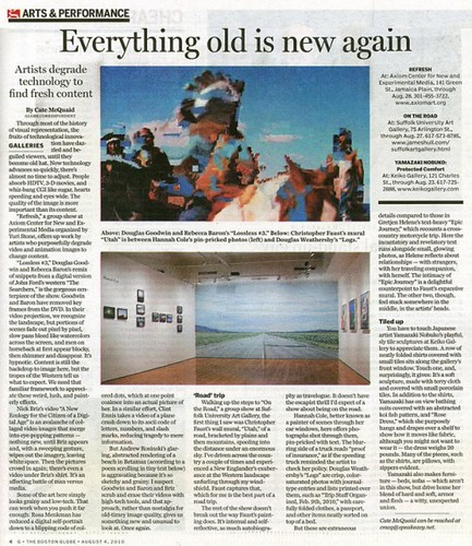 Boston Globe / Refresh Review