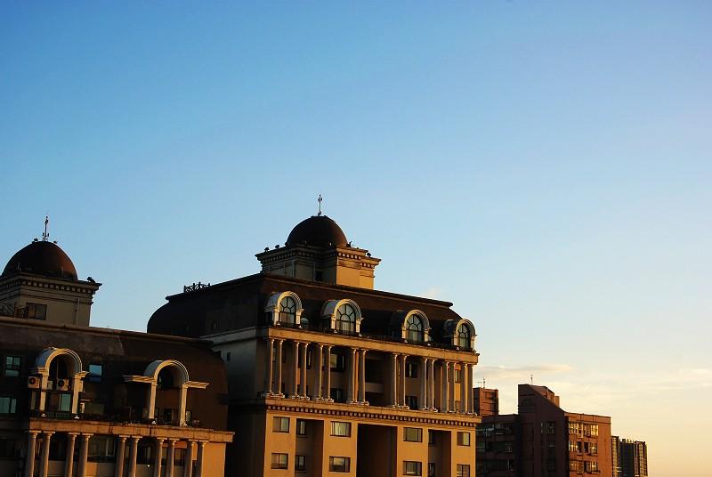 2010-08-21傍晚頂樓隨拍