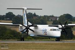 G-FLBB - 4255 - FlyBe - De Havilliand Canada DHC-8-402Q Dash 8 - Luton - 100803 - Steven Gray - IMG_1029