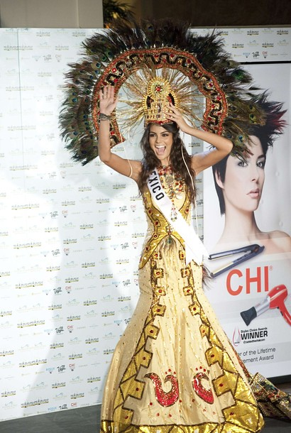 Miss México Jimena Navarrete National Costume