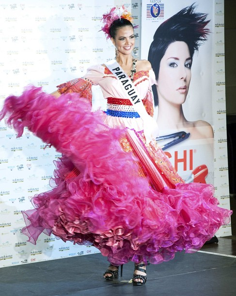 National Costume of Miss Paraguay
