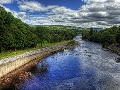 The River Tummel at Pitlochry - Scotland