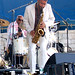 Roy Haynes and Kenny Garrett, Chick Corea Freedom Band, 2010 Newport Jazz Festival