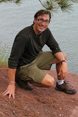 Pastor David, Middle School Trip 2010, Stockton Island, Lake Superior.JPG