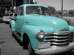Vintage Pickup Truck, Sausalito