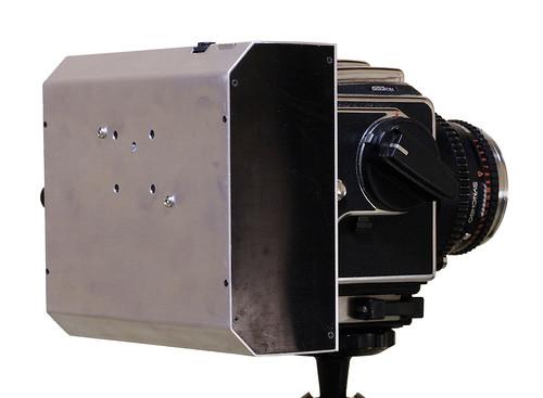 The rear side of scanner back