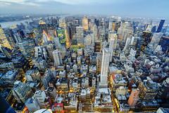 Sky has no limit (Tony Shi Photos) Tags: nyc urban ny building apple skyline buildings concrete photo angle state steel wide jungle esb empire hdr bldg nuevayork 纽约 紐約 نيويورك nikond700 ньюйорк 뉴욕주 tonyshi ניויאָרק