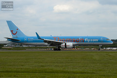 G-BYAY - 28836 - Thomson Airways - Boeing 757-204 - Luton - 100621 - Steven Gray - IMG_5619