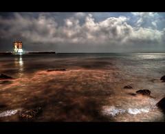 (Mark_Almodovar) Tags: barcelona espaa beach night noche mar spain sony bcn playa catalonia nocturna catalunya hdr catalua nit platja espanya sonyalpha sonya300