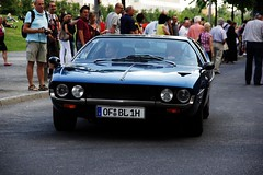 Espada front (Damors) Tags: auto old blue berlin classic car vintage all alt platz rally basement royal potsdamer exotic rights toll tc bmw oldtimer blau lamborghini reserved 1973 collect morten espada 1939 kk rallye concepts v12 klassik 335 zieleinlauf hamburgberlin exotisches carparazzi autogespot linkstrase exoticsonroad streetexotics schwend