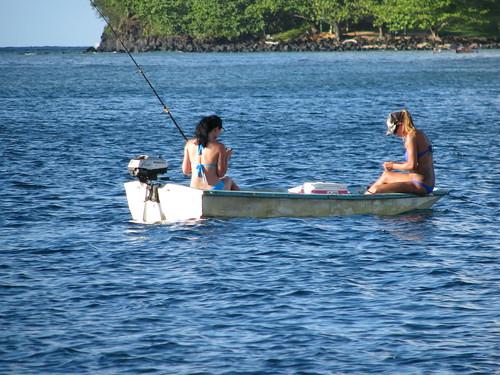 Hanalei fishing