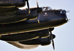 Low down Lanc.. (mickb6265) Tags: lancaster avro battleofbritainmemorialflight bbmf pa474 bombercommand phantomoftheruhr sywellairdisplay2010