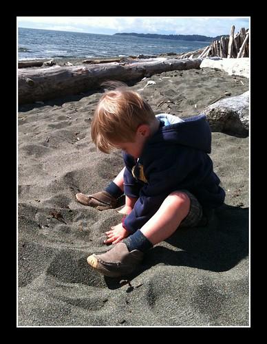 Aidan's sand box