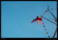 Sail 2010 (Marit Beimers) Tags: blue sky amsterdam blauw sail mast lucht 2010 vlag lijn