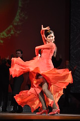 Rocio Montoya's Curtain Call at Riverdance performance in Radio City Music Hall (Official Riverdance) Tags: usa newyork finale radiocitymusichall homepage flamenco 2010 firedance riverdance 15thanniversary rociomontoya theboynecompany