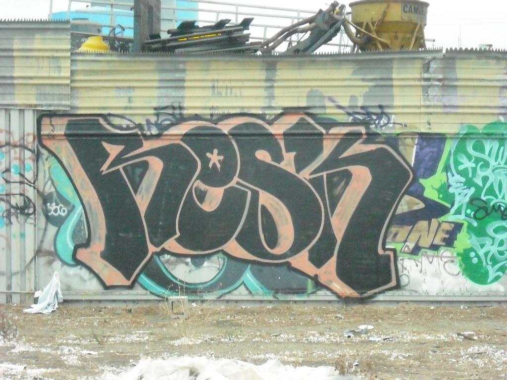 RESK graffiti - Oakland, Ca