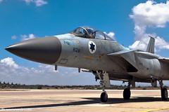 "F-15C ""Improved Baz"" Israel Air Force (xnir) Tags: canon photography eos israel is haze fighter photographer force eagle aviation military air boeing douglas  baz interceptor nir mcdonnell f15  iaf 100400l benyosef 100400 superiority 50d  f15c intercept    wwwxnircom xnir   idfaf  improvedbaz photoxnirgmailcom"