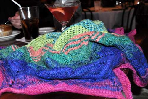 The Shawl earned a few drinks...