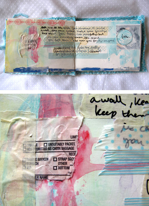 Art Journal Lost in Relations p.5