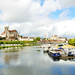 Auxerre (Burgundy) - View from Paul Bert Bridge