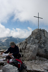 Dinner at 3024m height on the Bella Tolla Photo