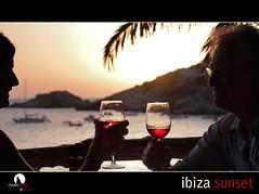Ibiza Sunset (Juan Juanatey) Tags: sunset atardecer wine ibiza cala vino caladhort restauranteelcarmen