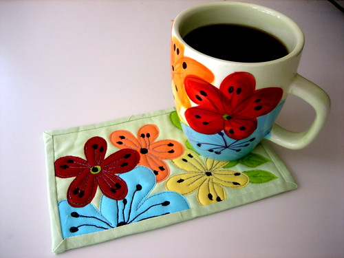 Big mug - little matching rug