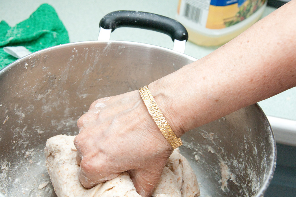 2, Kneading Chapati