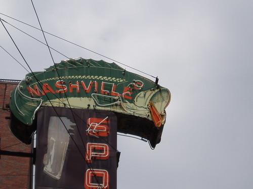 Nashville trout sign