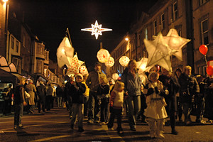 Dorchester Christmas Cracker 2009 - parade