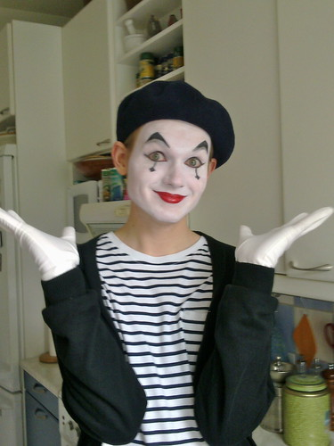 My Son the Mime