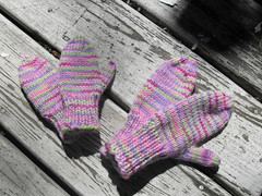 Mittens for the girls