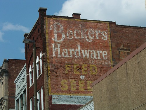 Wheeling Ghost Sign